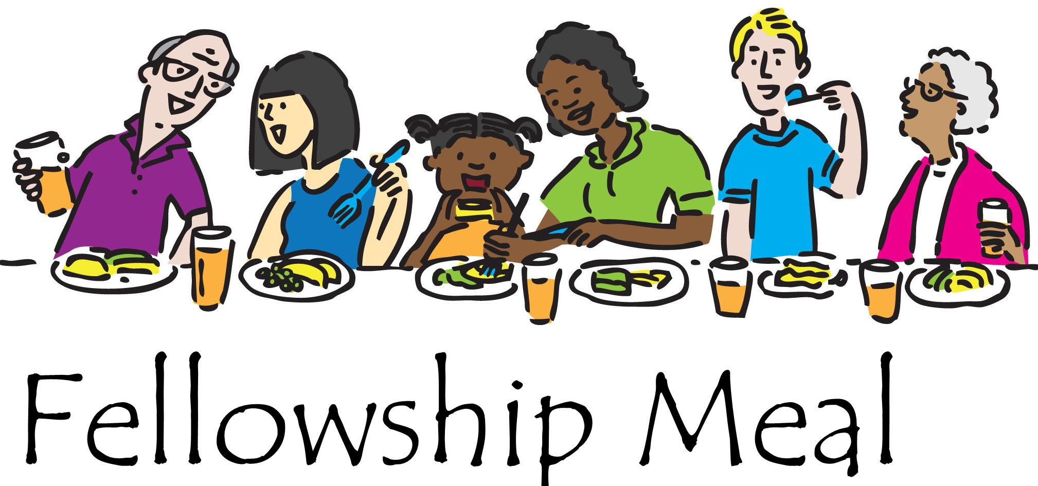 Diner clipart group dining. Free church fellowship cliparts