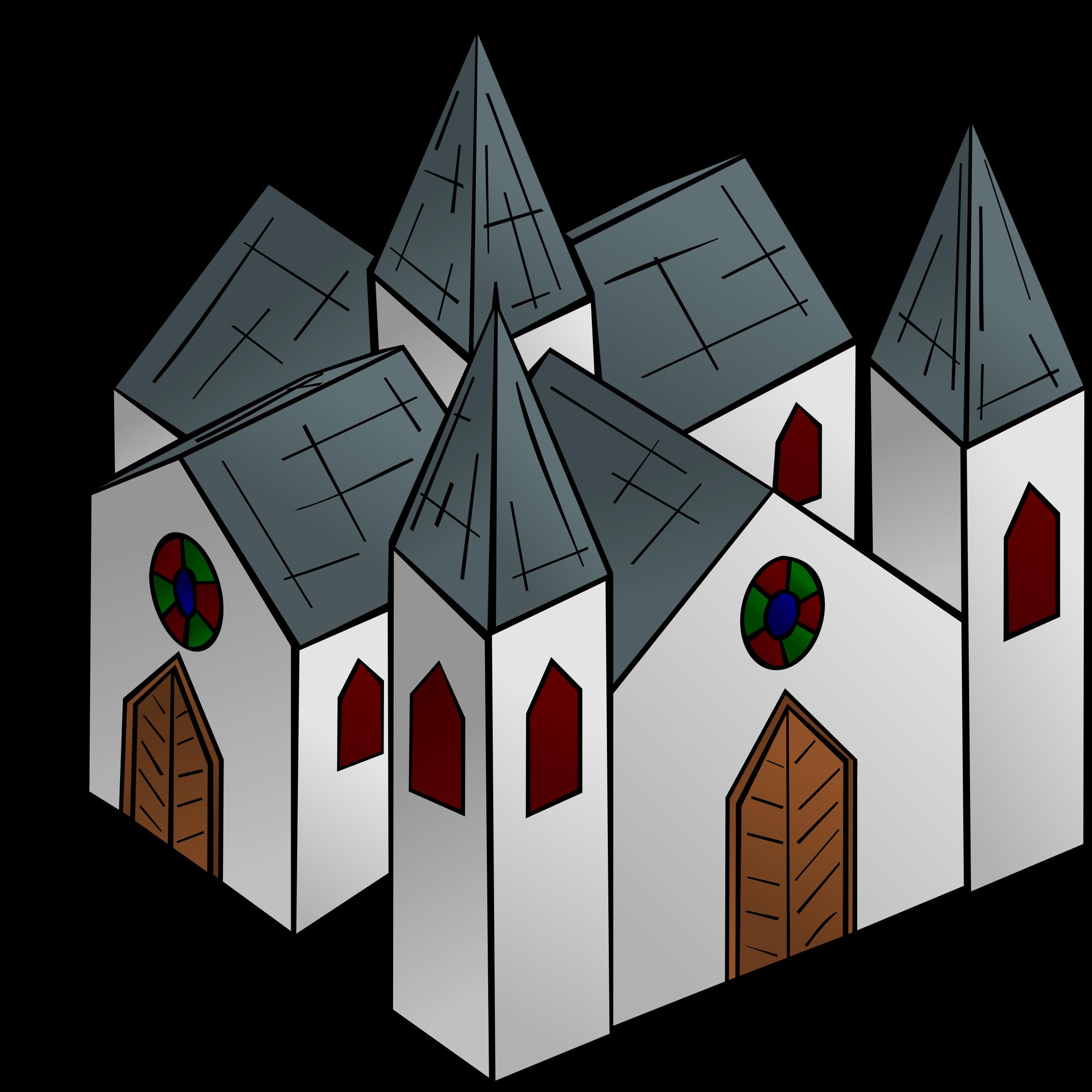 Rpg map symbols cathedral. Medieval clipart medieval symbol