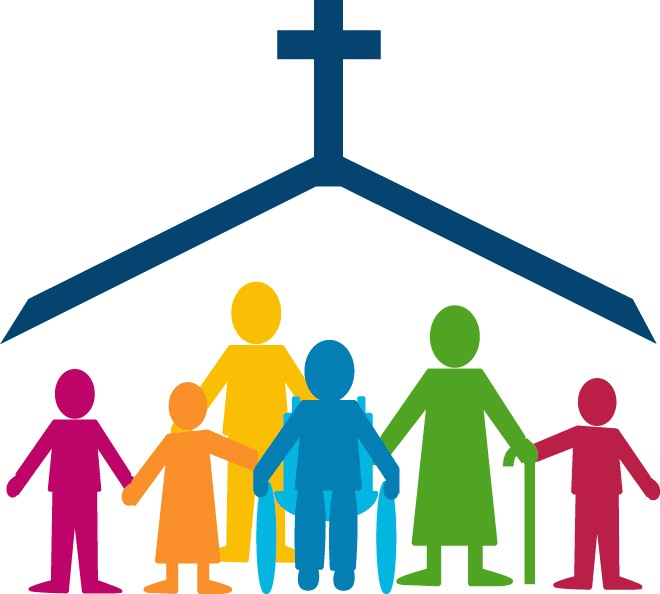 Free family cliparts download. Friendship clipart church