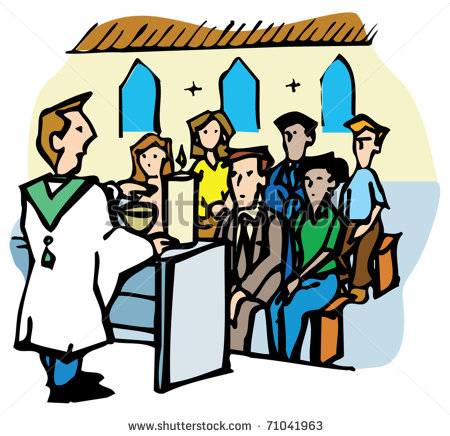 Clipart church person. Going to free download