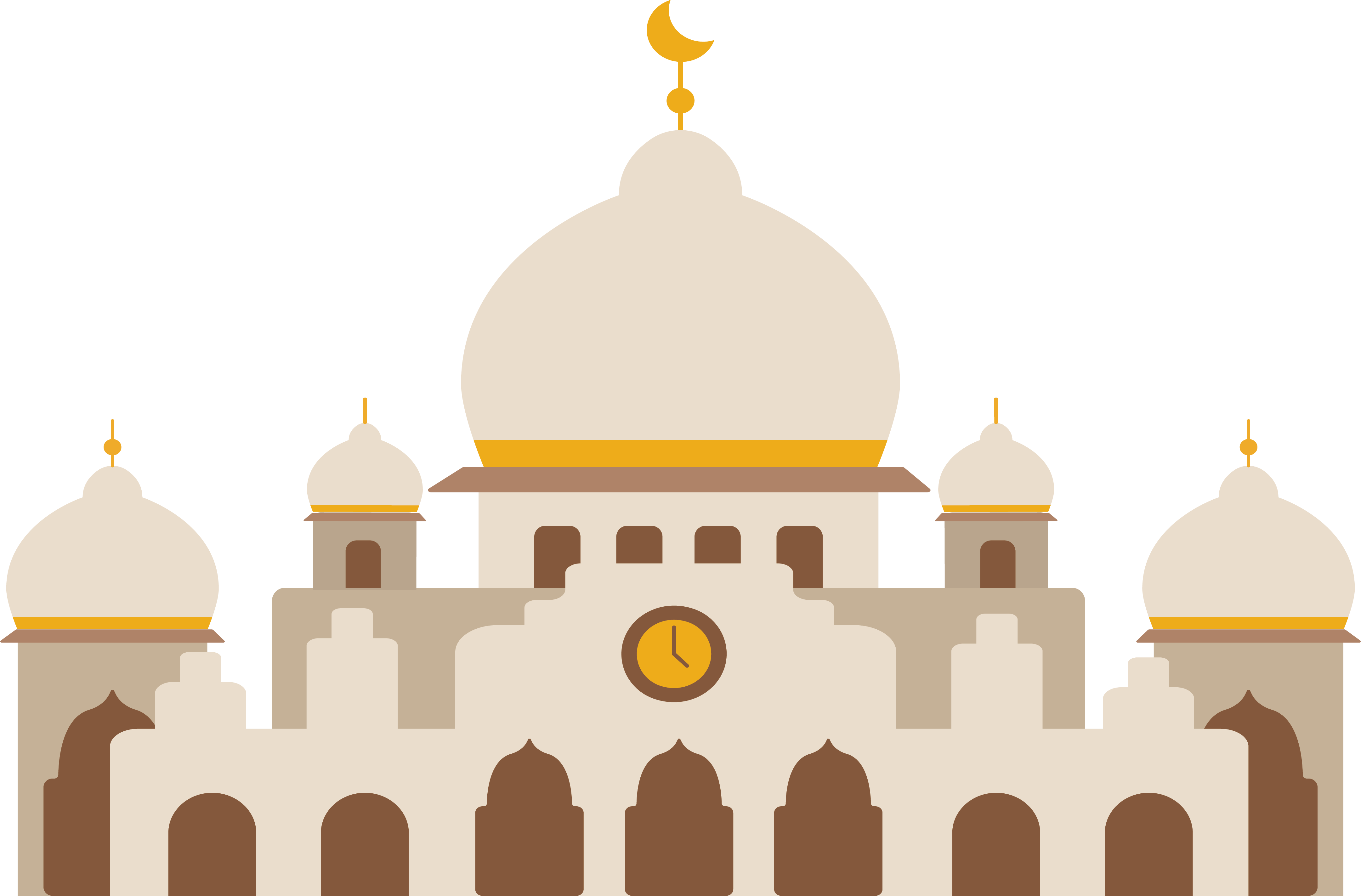 Clipart church place. Kaaba halal hegira islamic