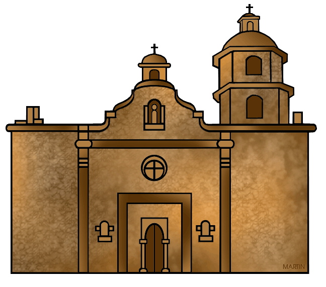 Architecture clip art by. Clipart church place