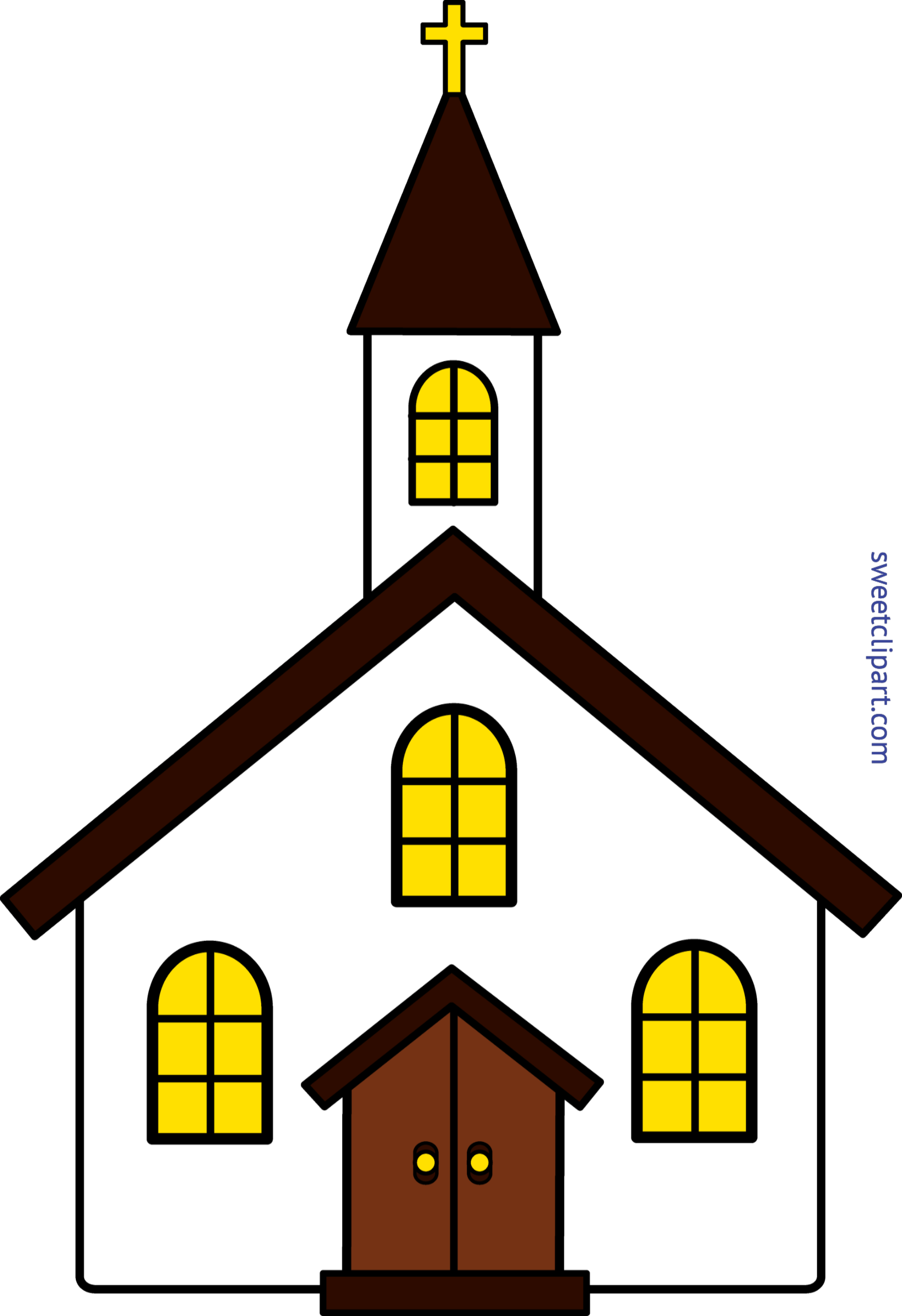 Clip art sweet. Clipart church place