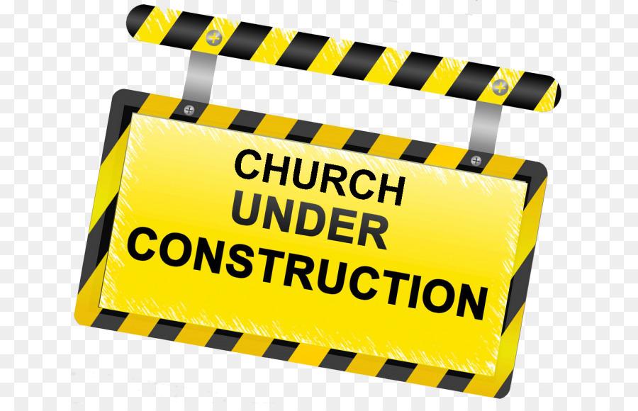 Cartoon construction building . Clipart church renovation