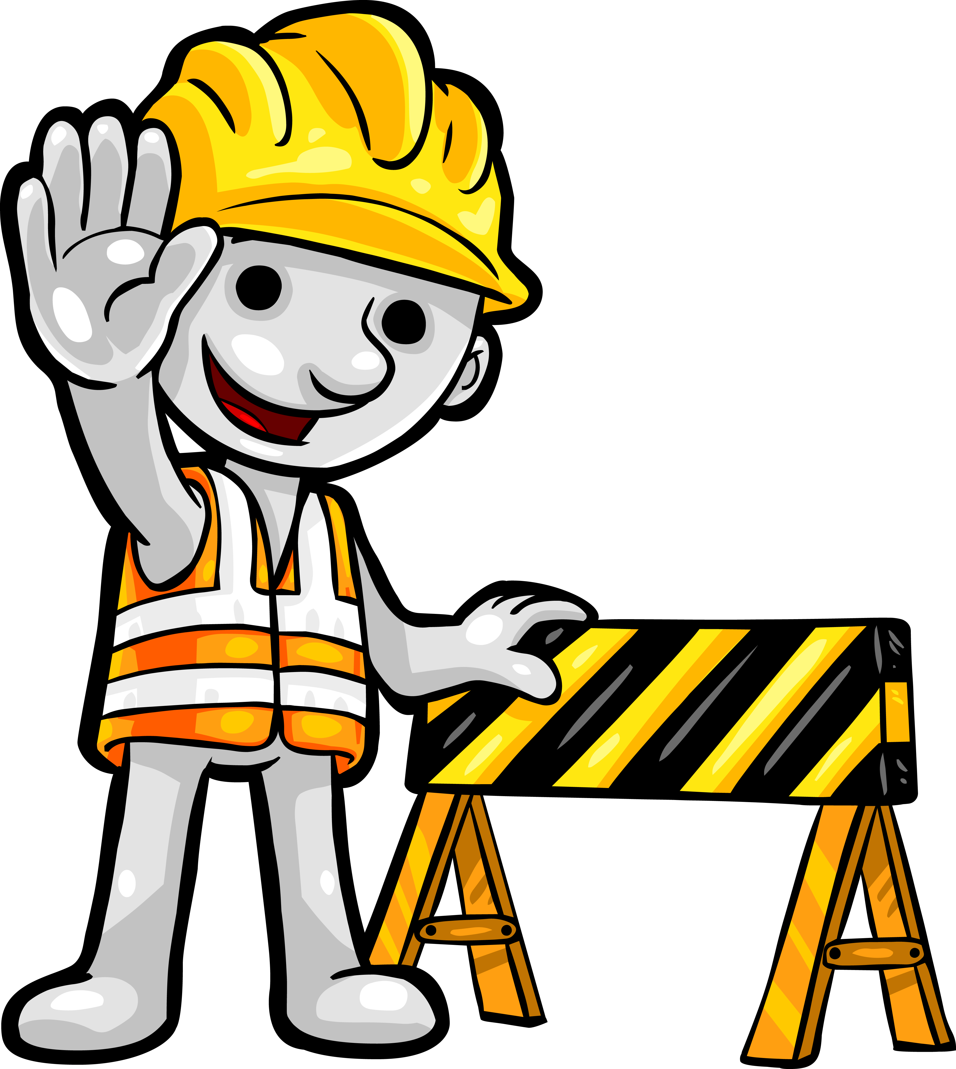 collection of office. Contractor clipart builder