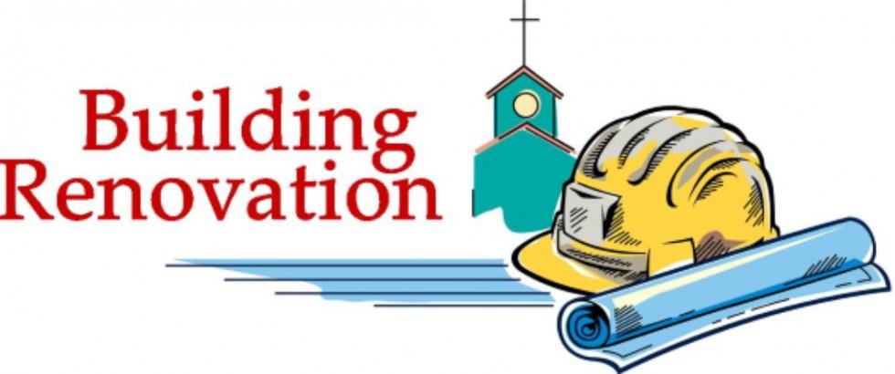 Building plans announced . Clipart church renovation