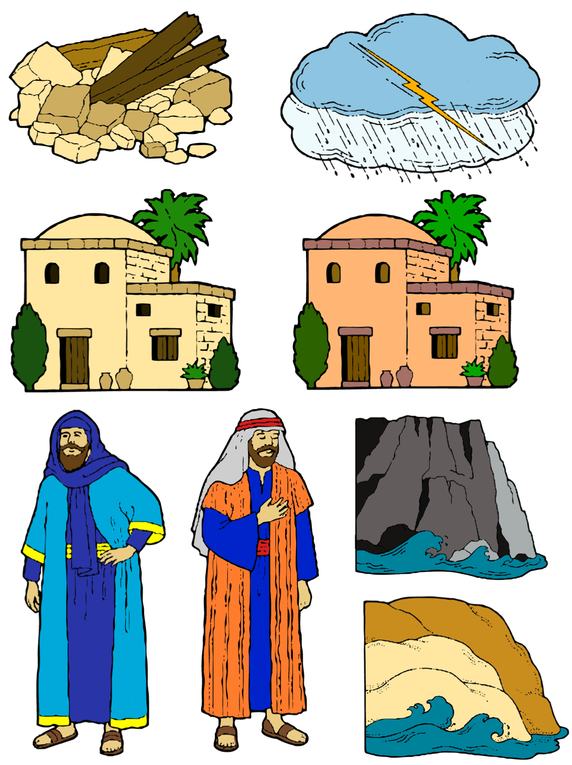 The and foolish story. King clipart wise man