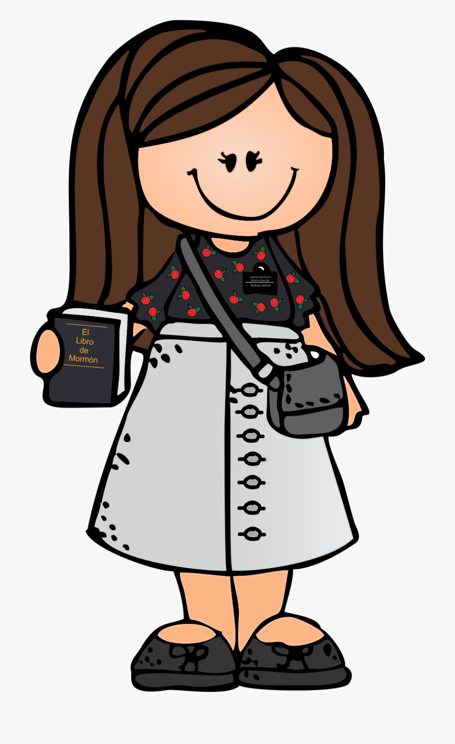 Lds clipart cartoon. Church sister missionary cliparts