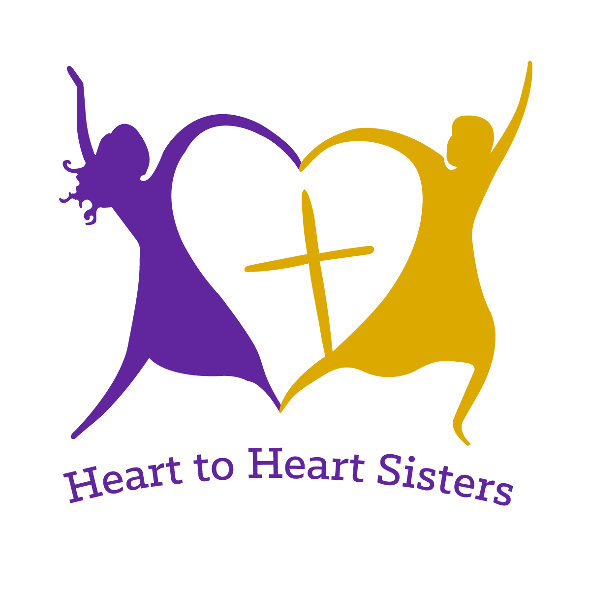 collection of sisters. Heat clipart group heart