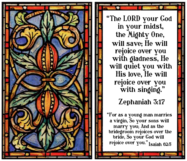 Window and scriptures christian. Cross clipart stained glass