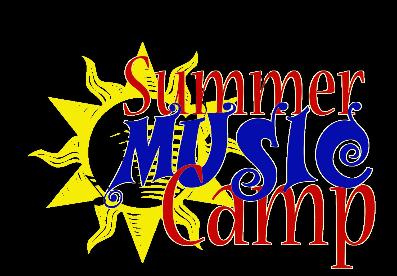 Summer camp june july. Clipart music church