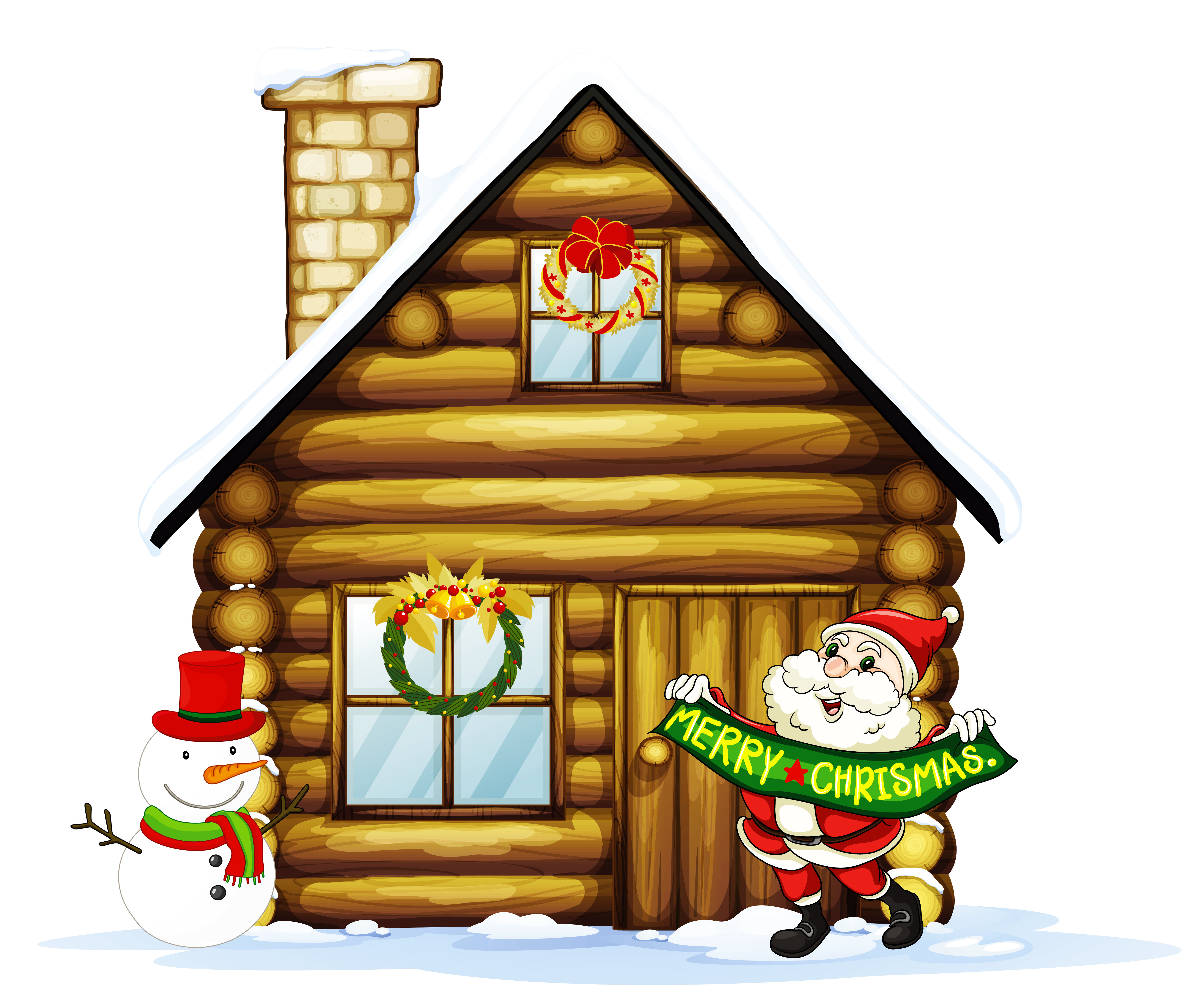 Home clipart neighborhood. Christmas house at getdrawings
