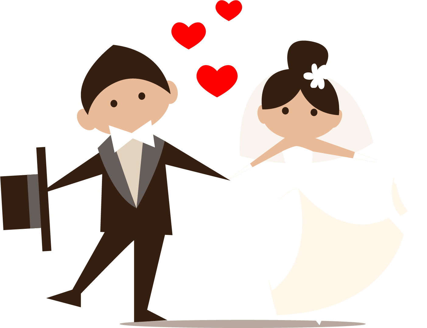 Png transparent free images. Girls clipart wedding