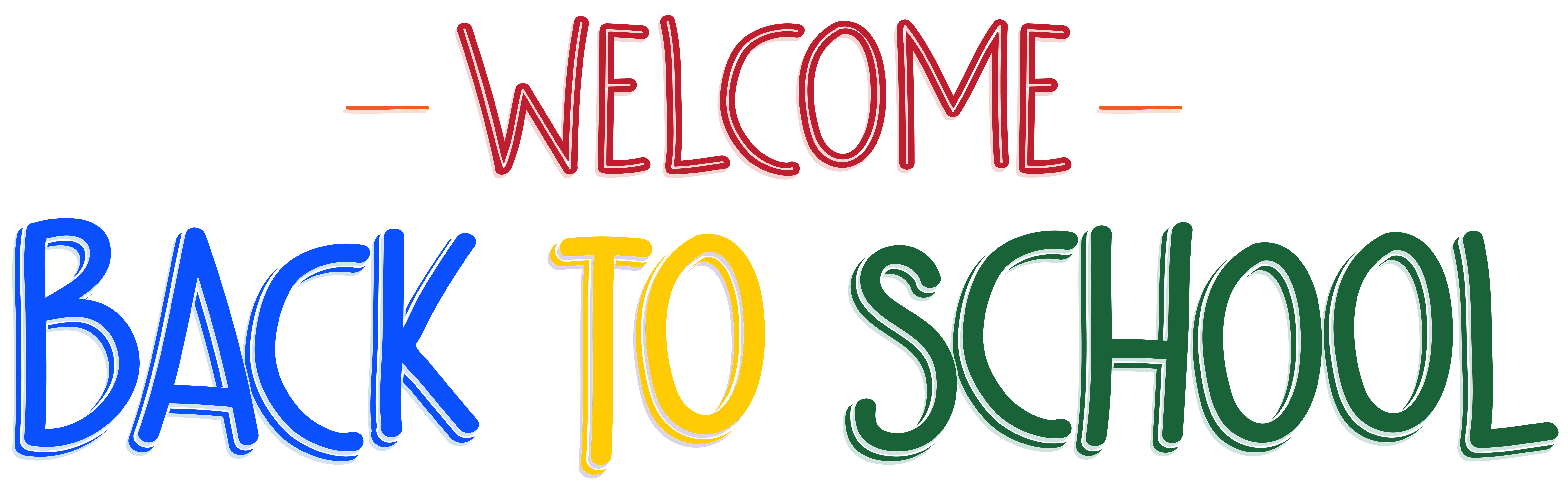 Website clipart welcome. Back to school png