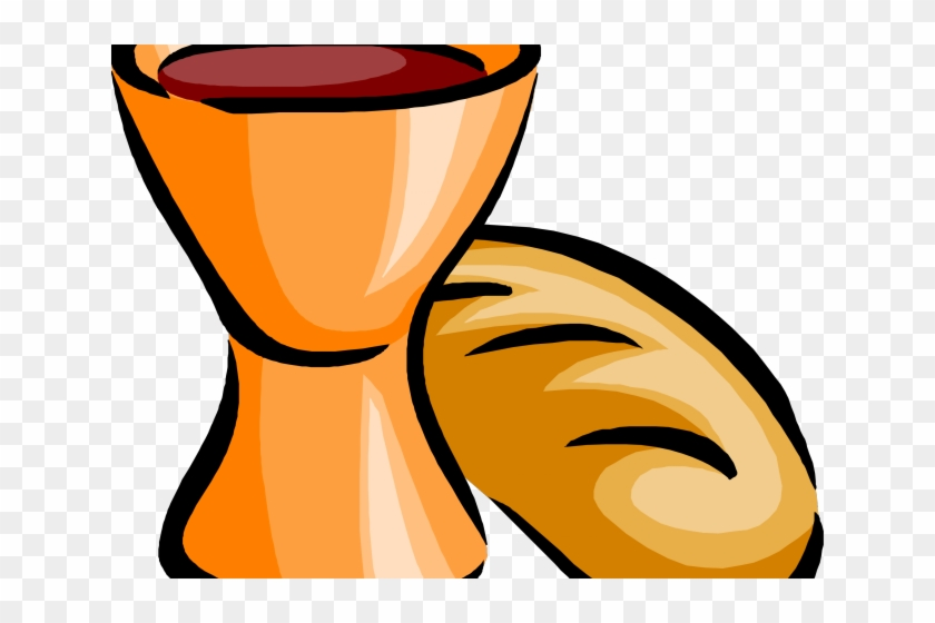 Bread and the last. Clipart church wine