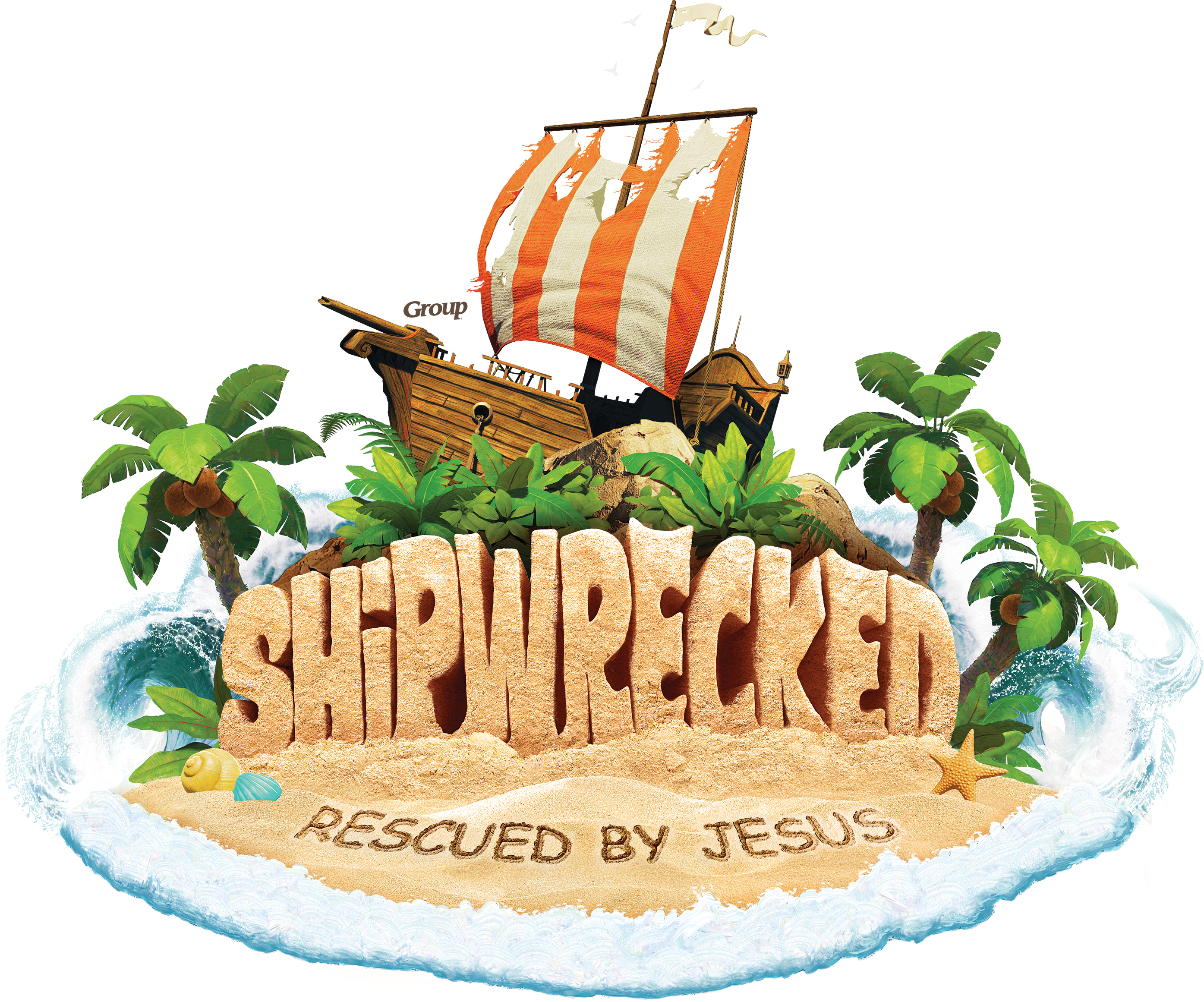Shipwrecked vbs free resources. Missions clipart scripture