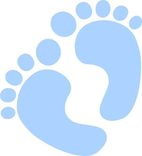 Baby clip art at. Feet clipart small foot
