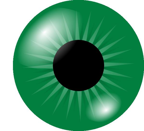 Eyeball clipart mata. Green eye clip art