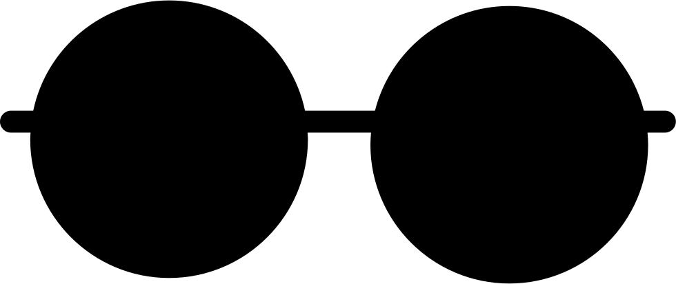 Sunglasses clipart mickey. Retro round glasses svg