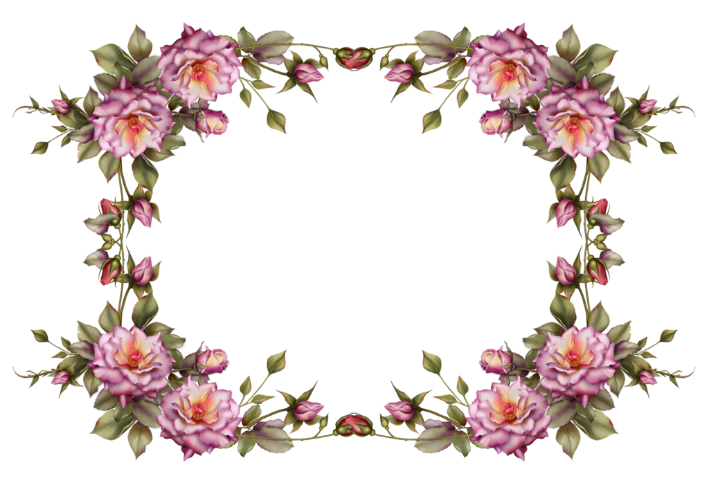 Anime flower png. Frame by collect and