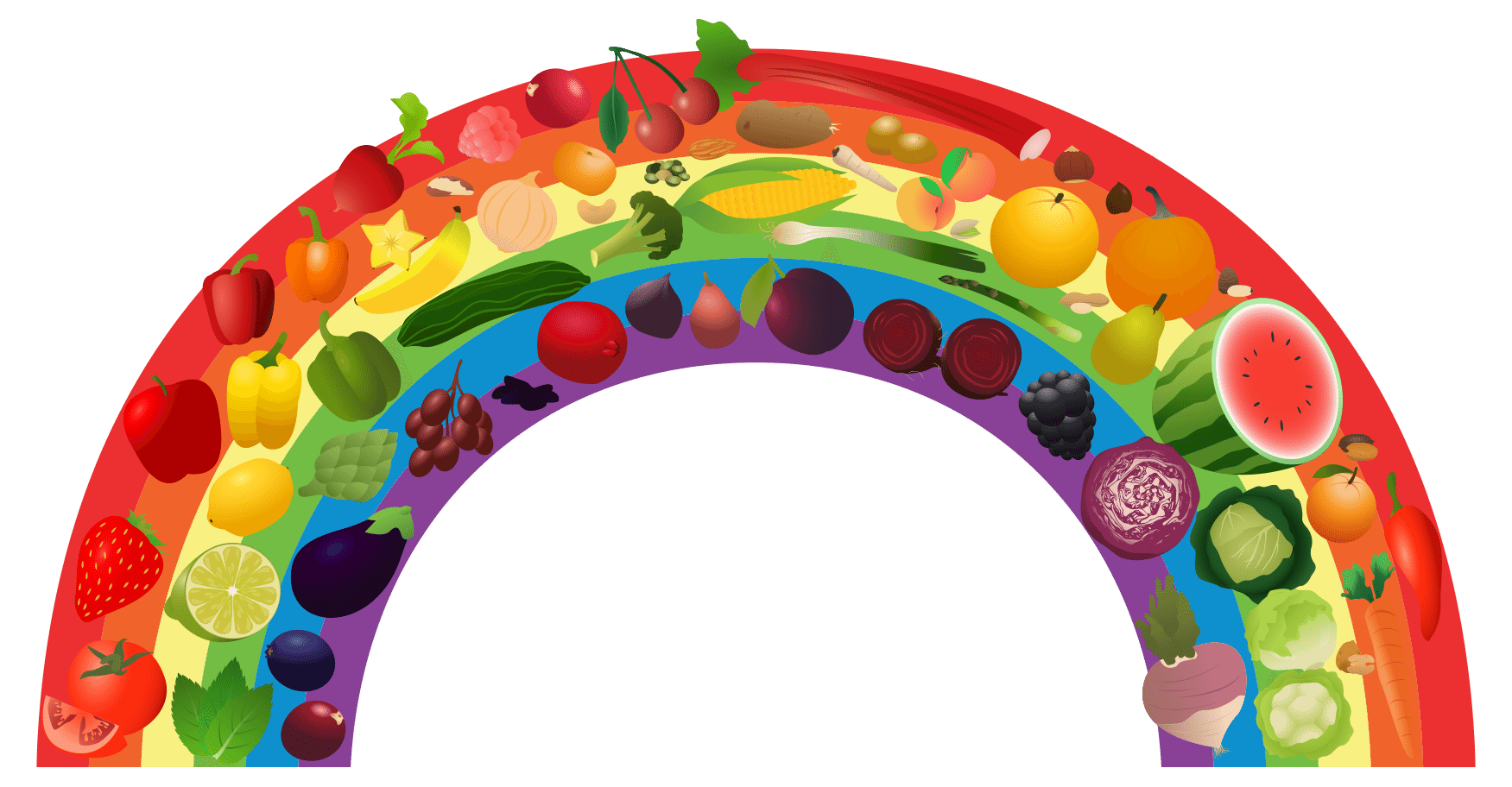 Georgia clipart fruit.  collection of rainbow