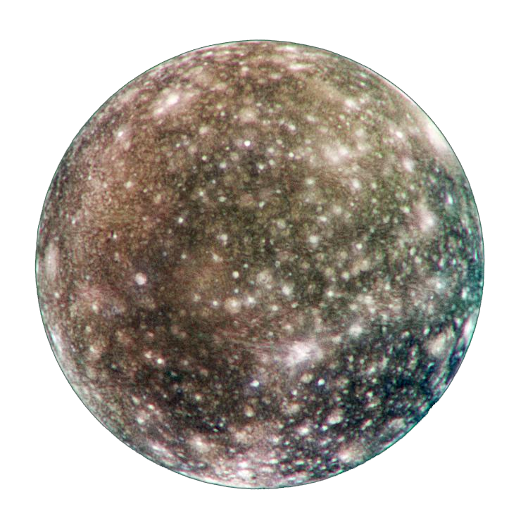 Planet clipart makemake. Callisto moons of jupiter