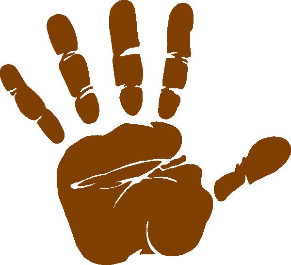 thumb clipart brown