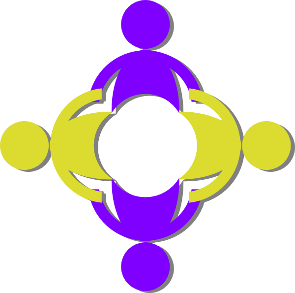 Clipart hand circle. People holding hands clip