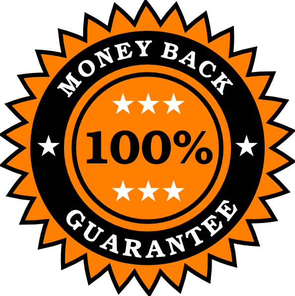 Clipart circle money. Back guarantee sticker clip