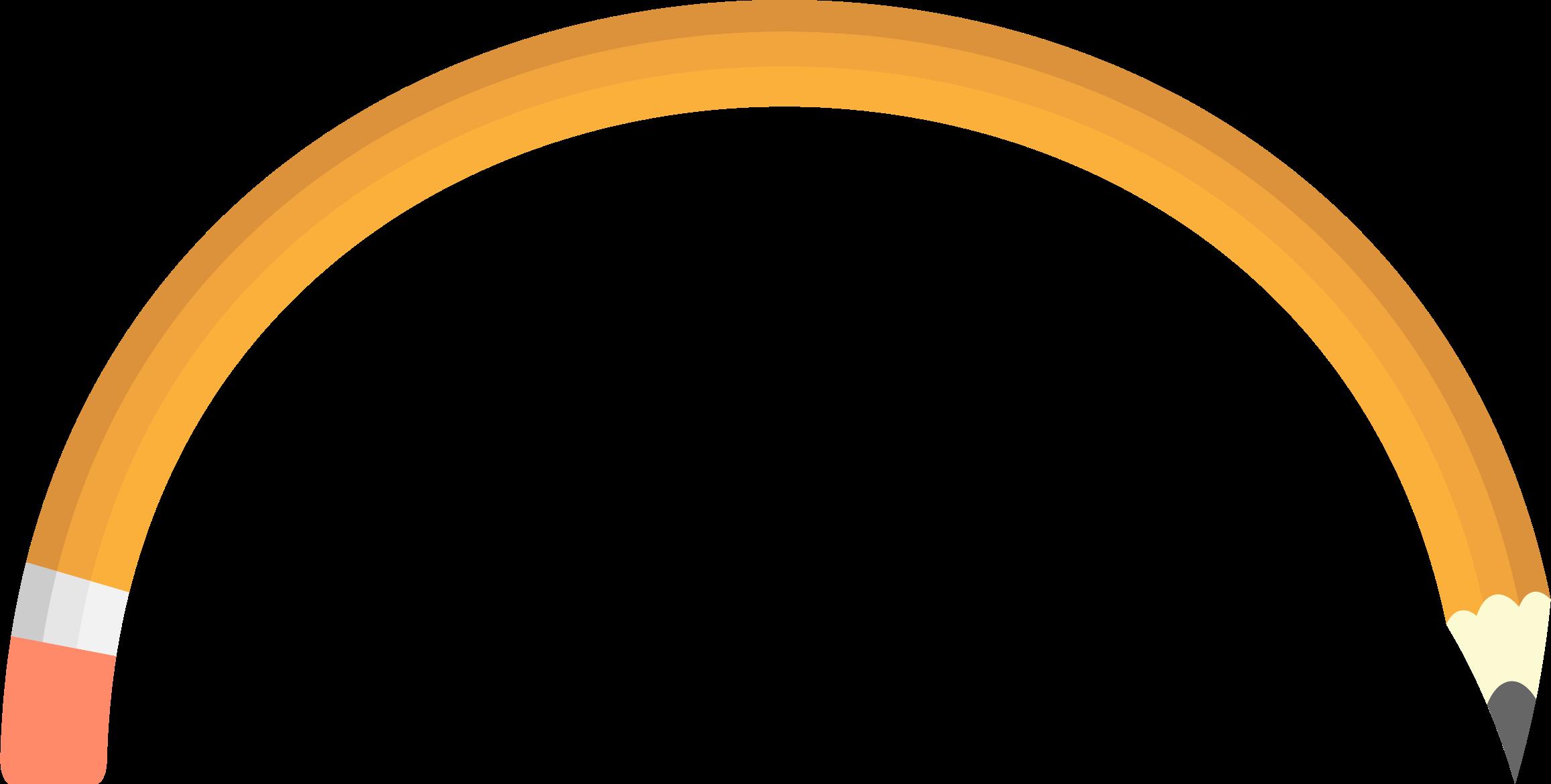 Arch. Clipart pencil circle