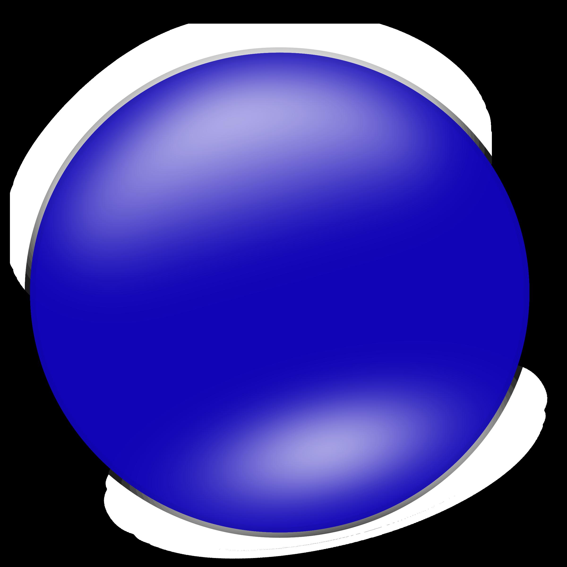Shapes clipart circle. Blue