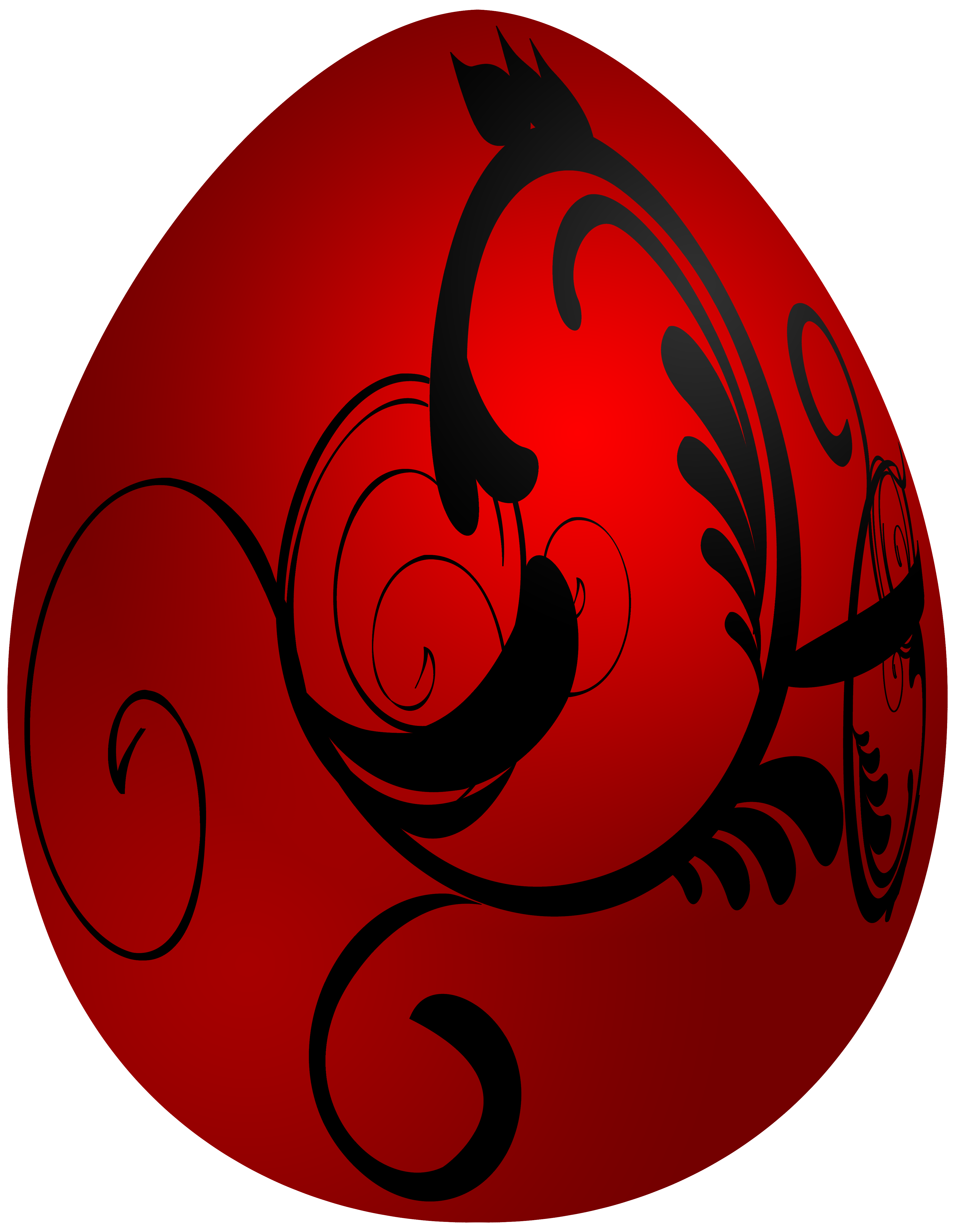 Easter red decorative png. Egg clipart soup