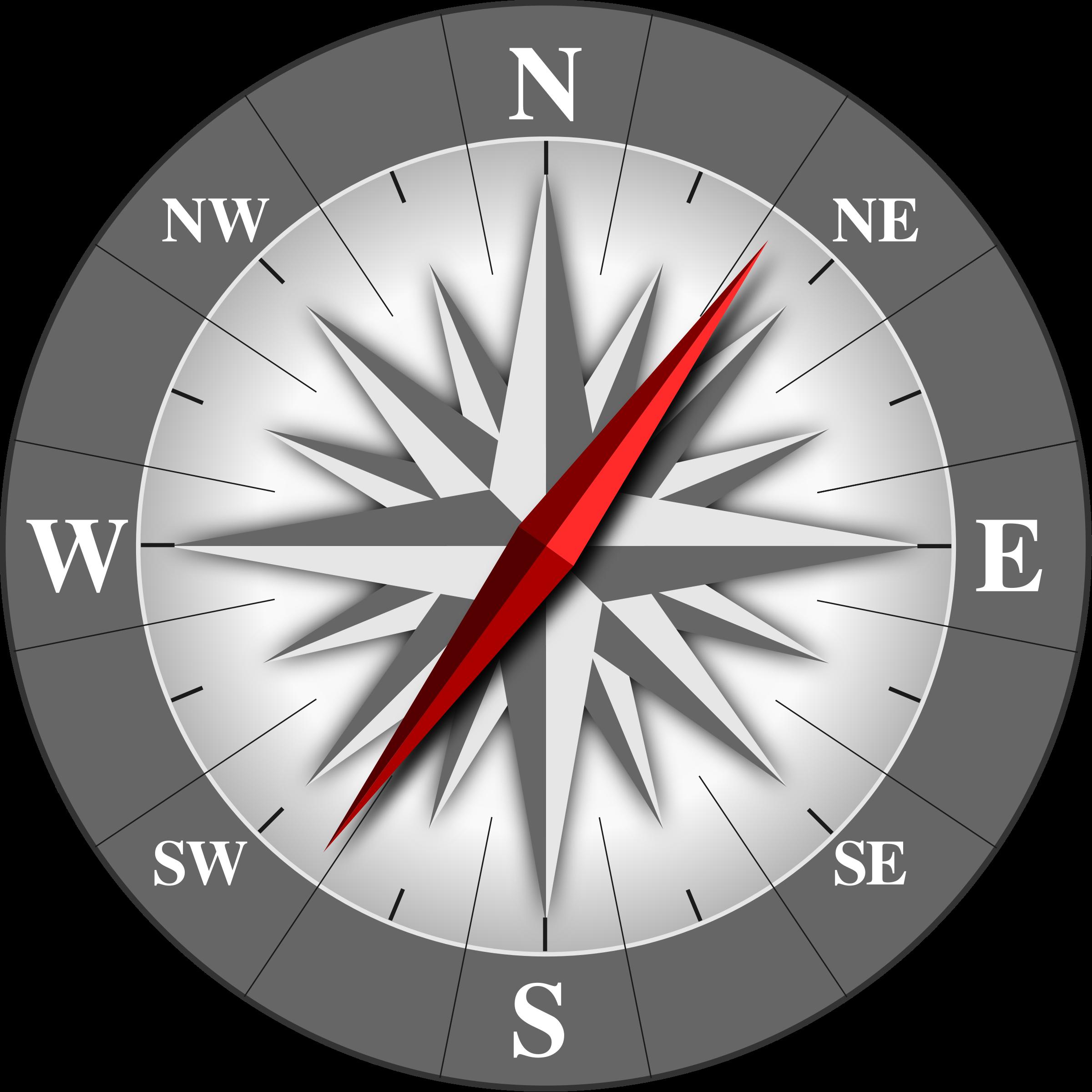 Clock clipart compass. Bussola big image png