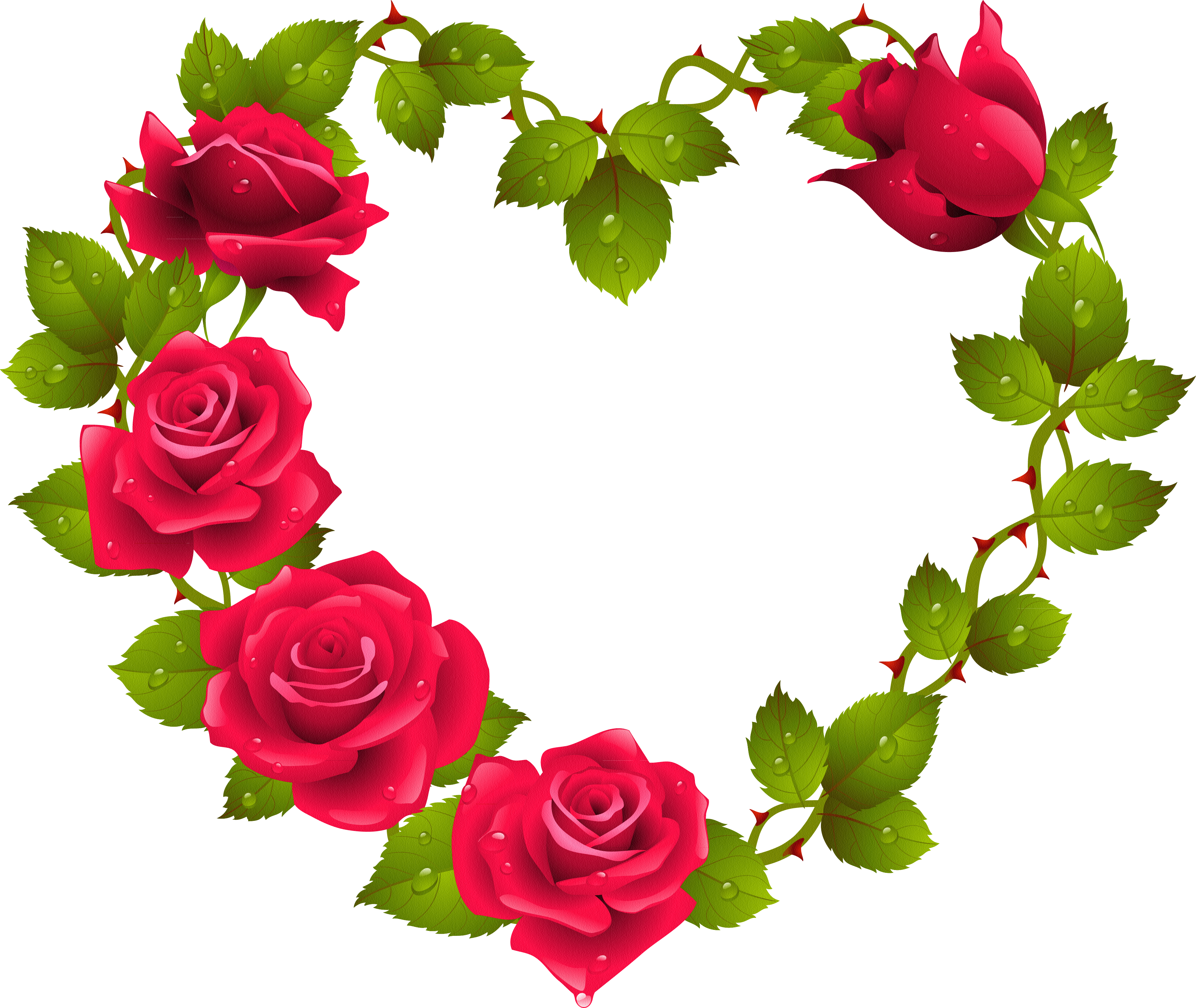 Clipart hearts plant.  christine staniforth heart
