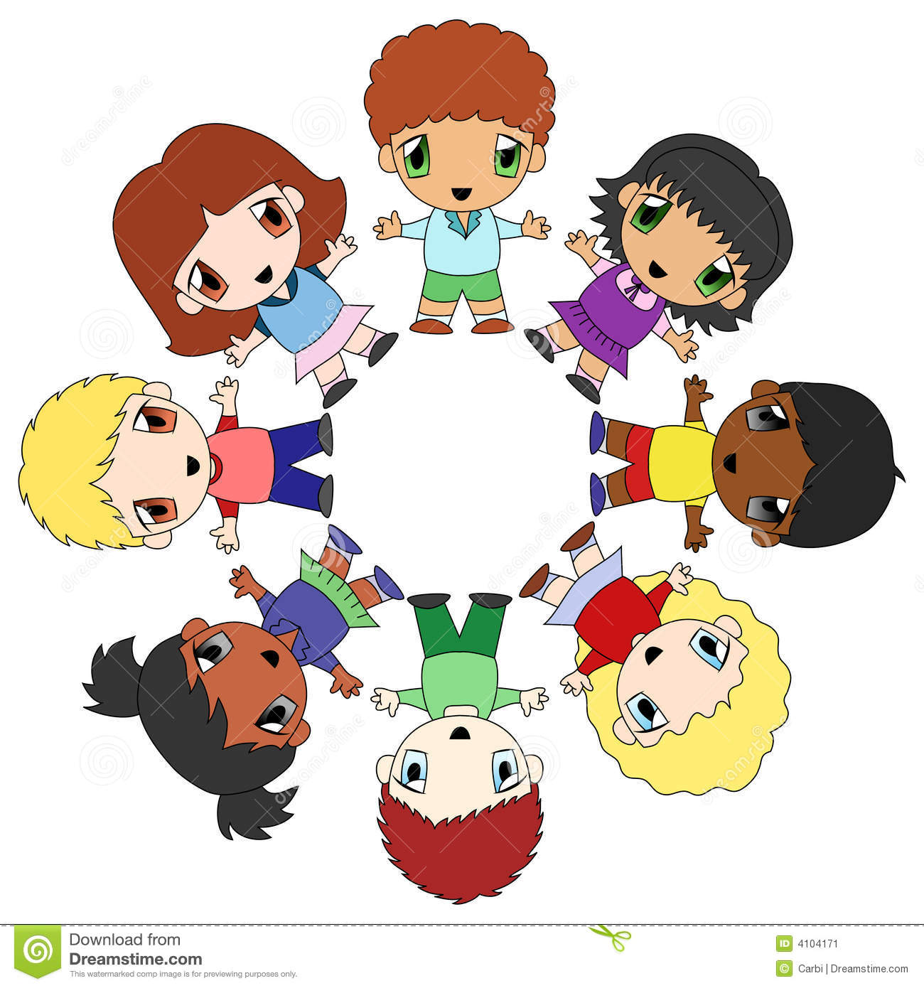 Friendship clipart circle time. Of friends free download