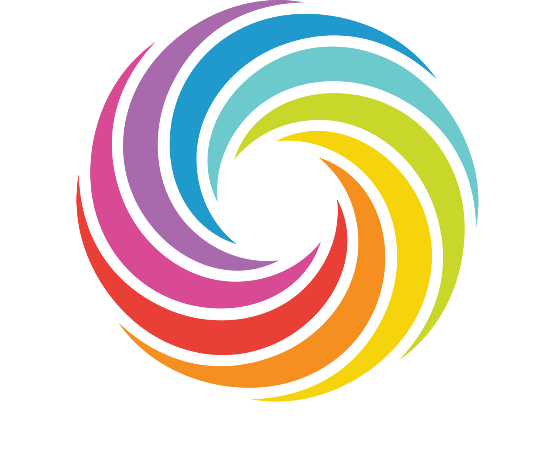 Magic clipart swirly line. Original rainbow bagels bagel