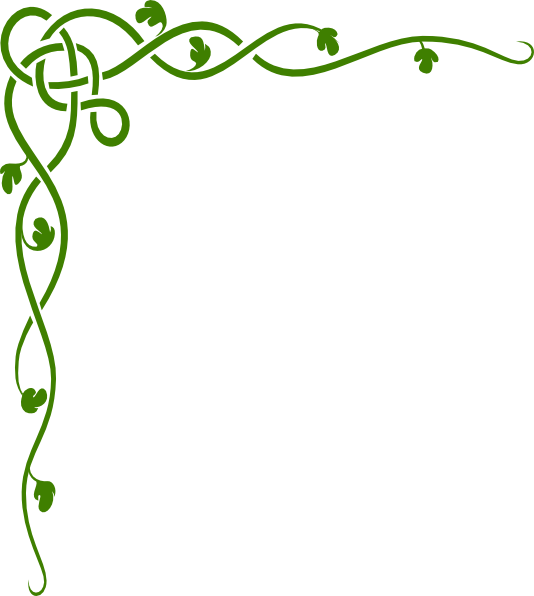 Leaf vine free download. Jungle clipart borders
