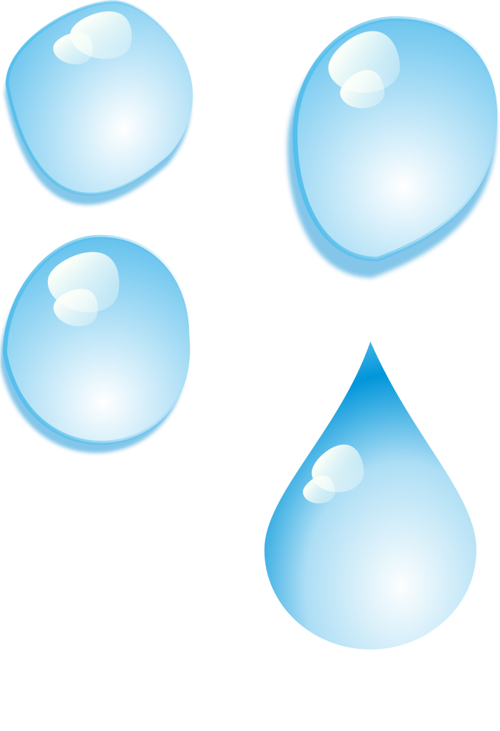 Clipart water water droplet. File rg set of