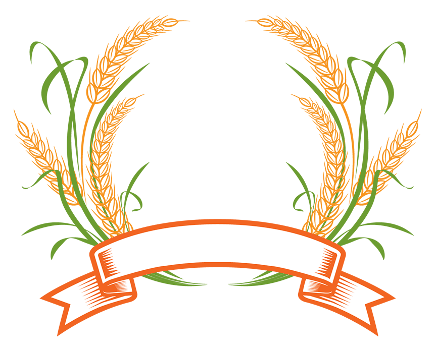 Wheat clipart agriculture. Logo cereal clip art
