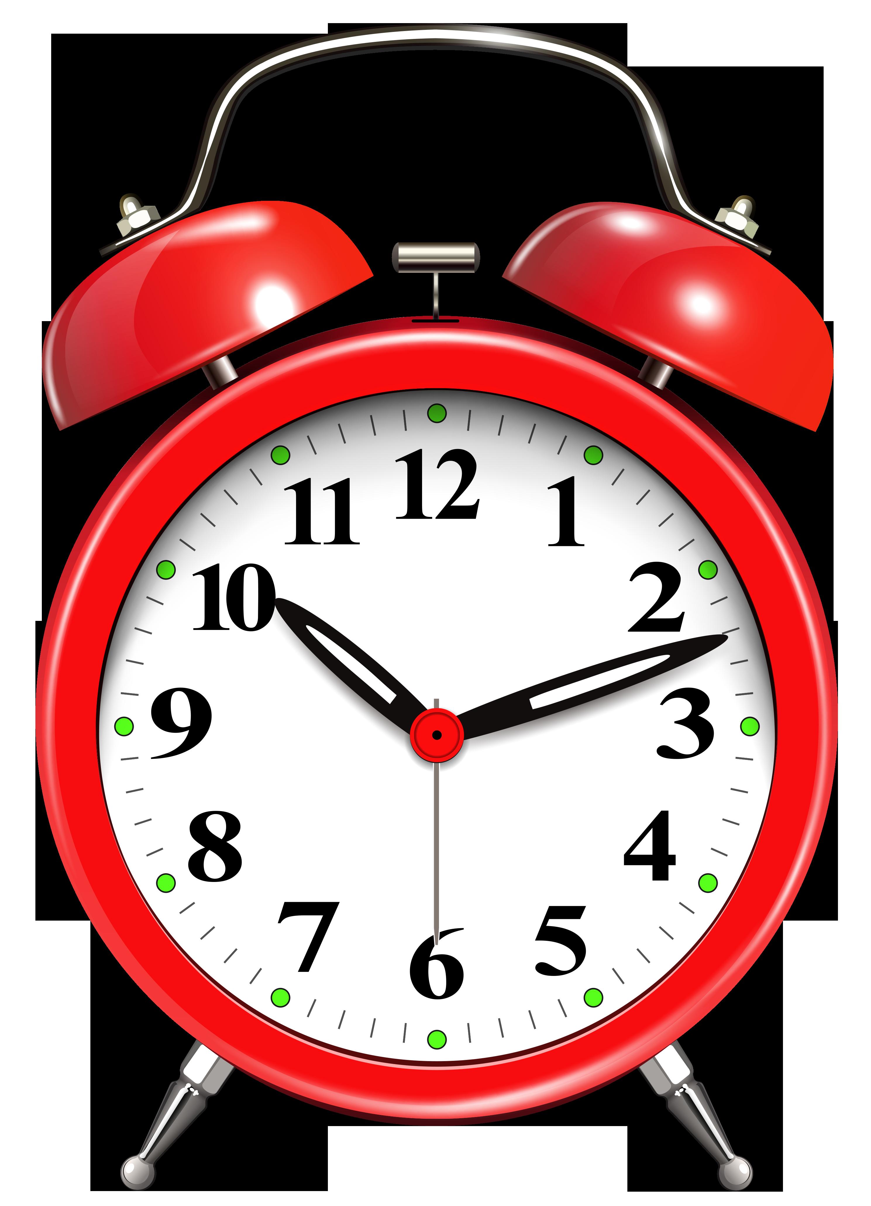 Alarm red png clip. Clipart clock