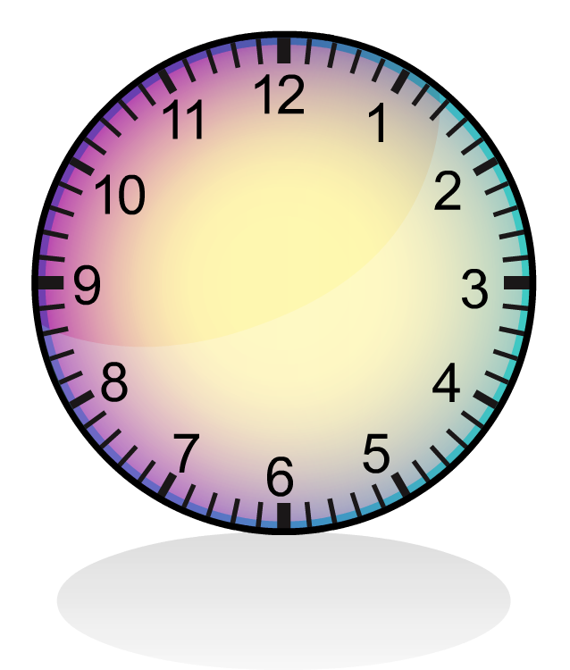 Clipart clock 12 am. Time tools hour to