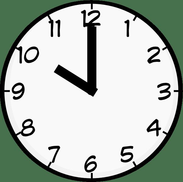 Clipart clock 12 am. Set alarm for a