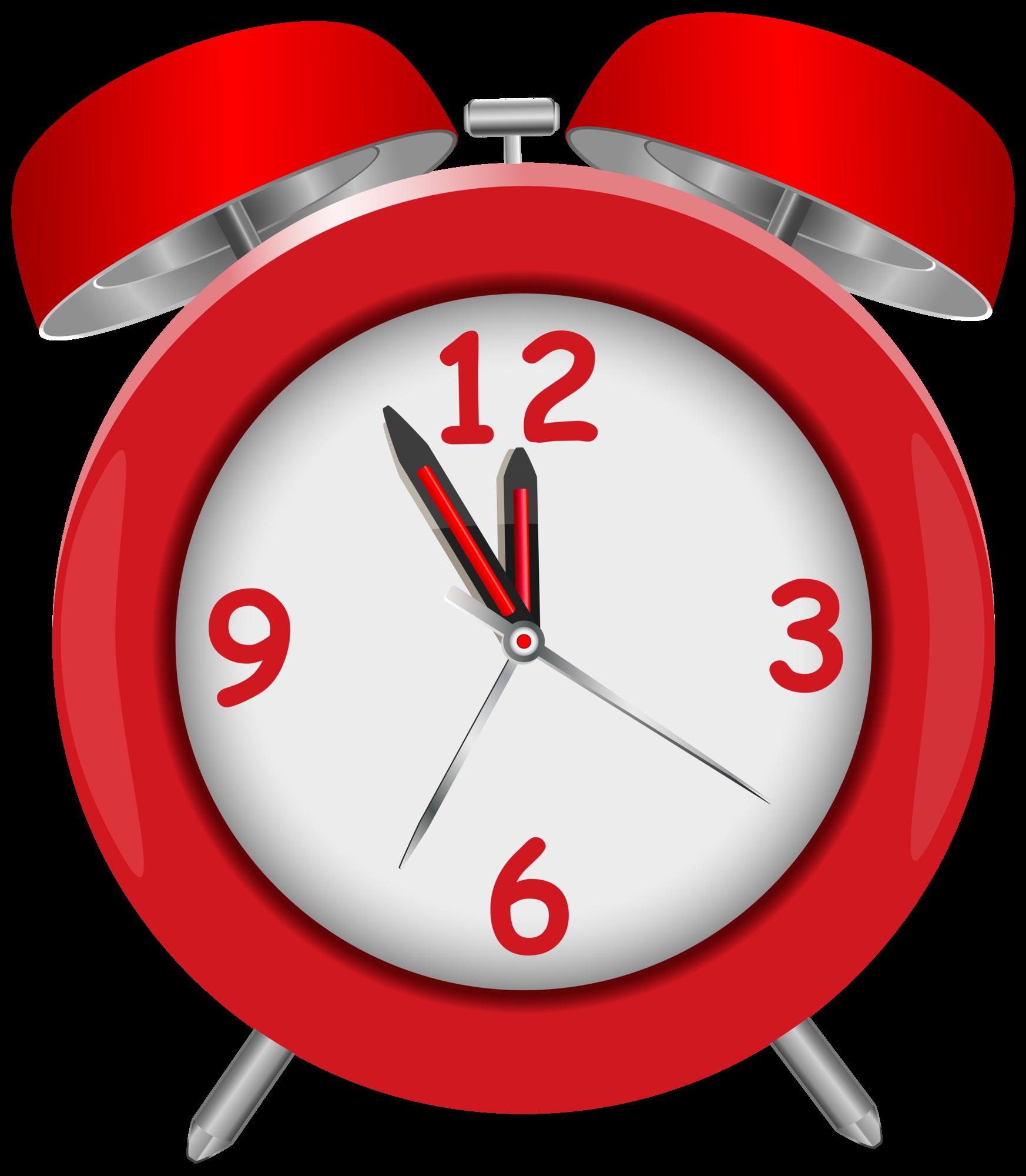 Red alarm png clip. Clipart clock