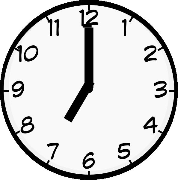 Clock 7 am