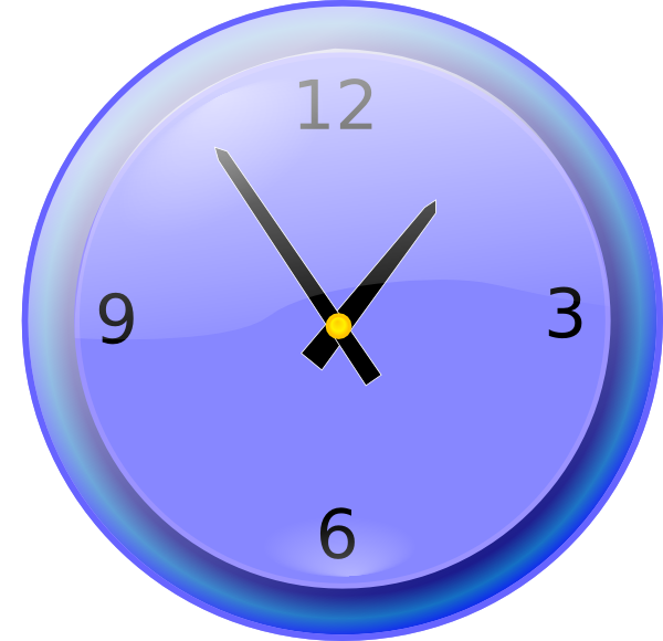 Clocks clipart 7 o clock. Analog clip art at
