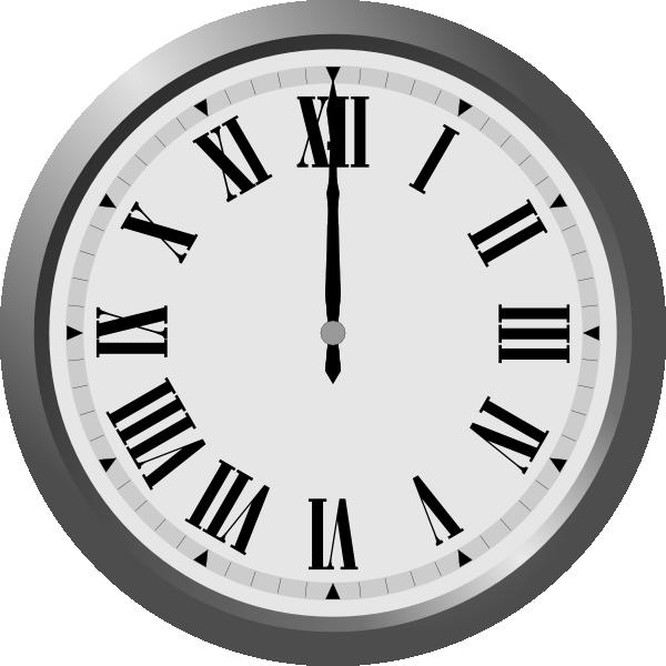 Clip art at clker. Clipart clock 7 o clock
