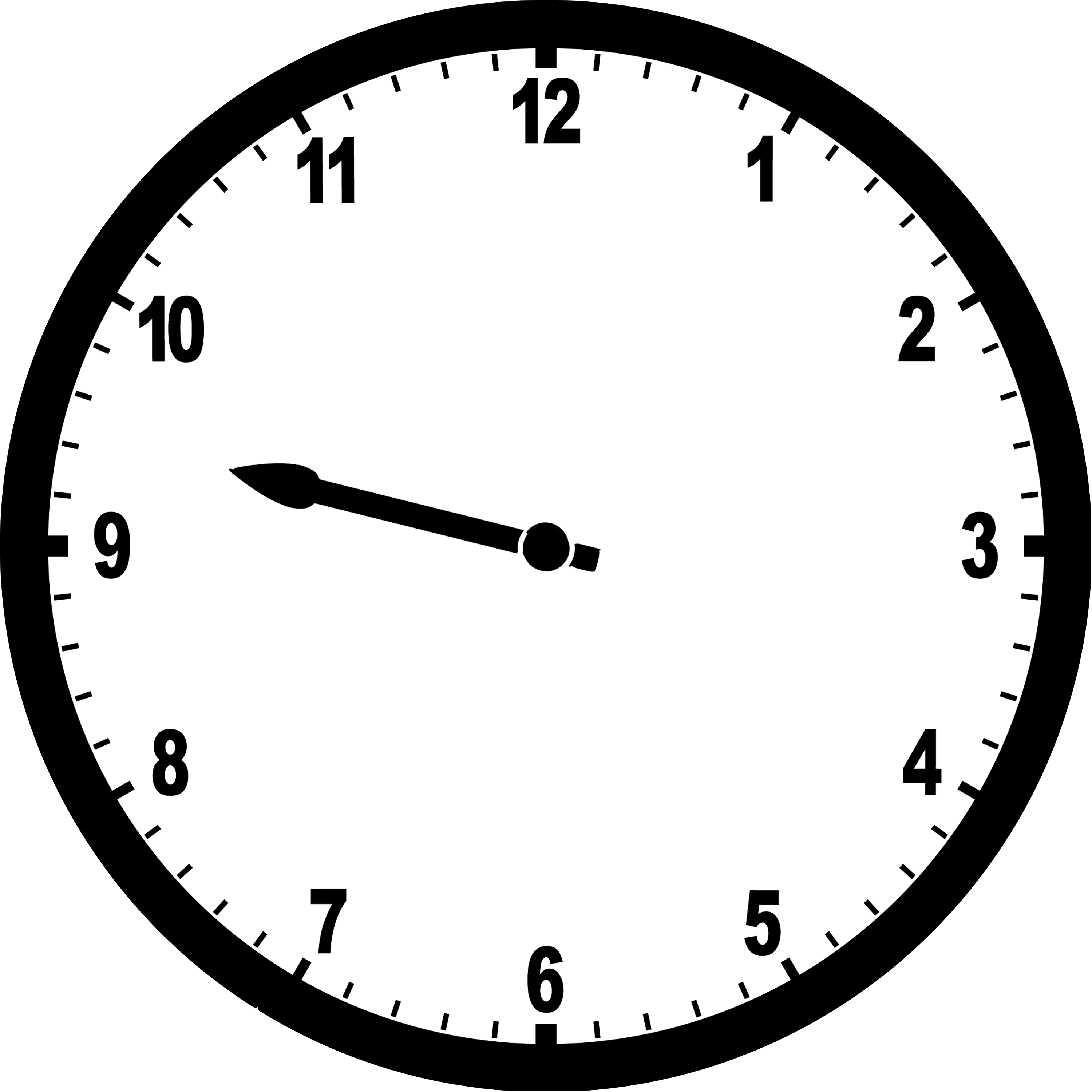 Clipart clock 7 o clock. Hour hand clipground it