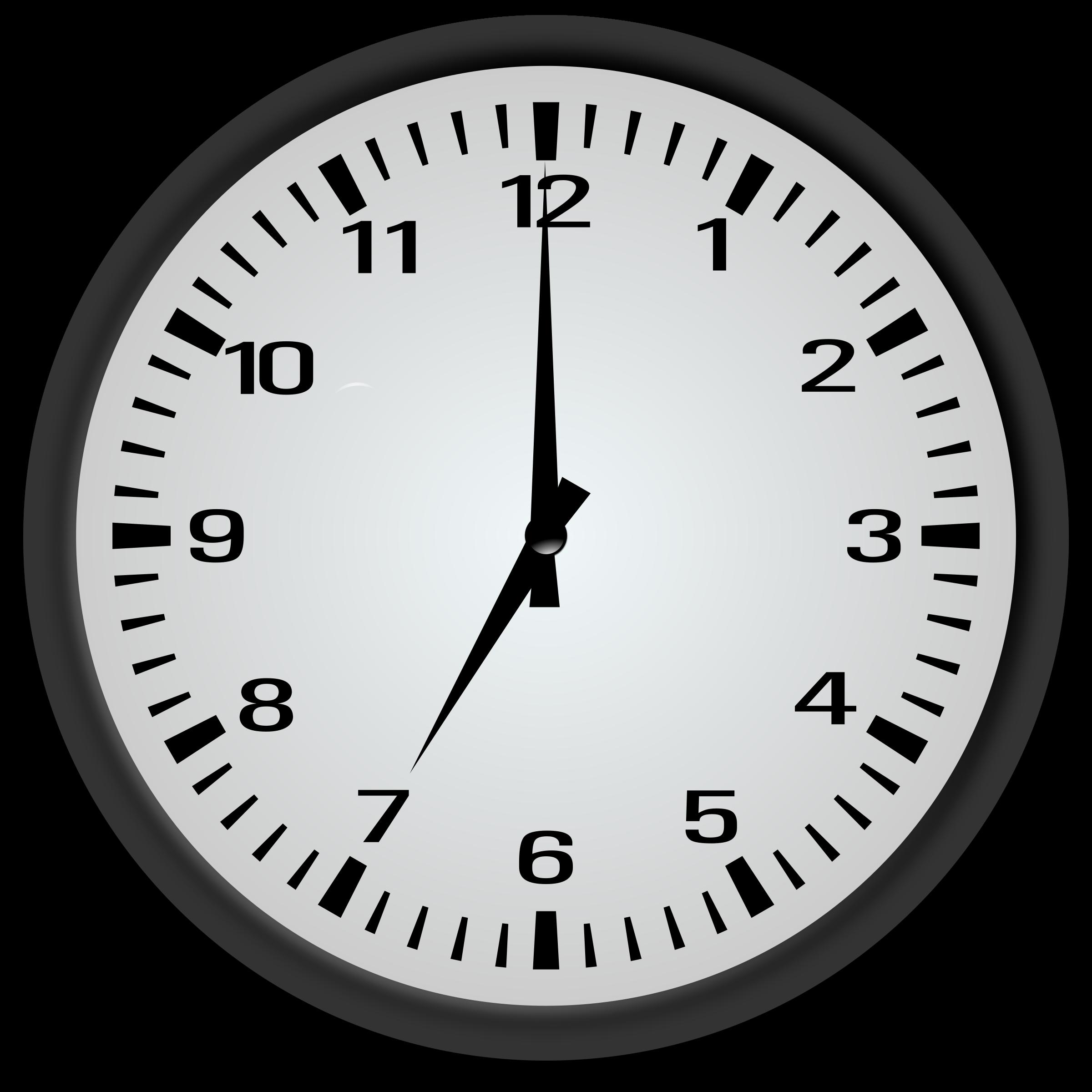 Big image png. Clipart clock 7 o clock