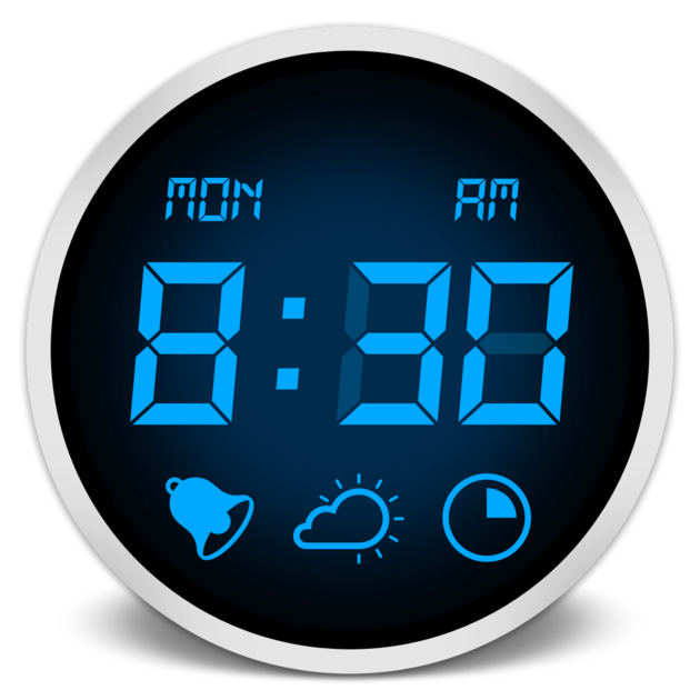 Clipart clock 8 am. Desktop electronic showing the