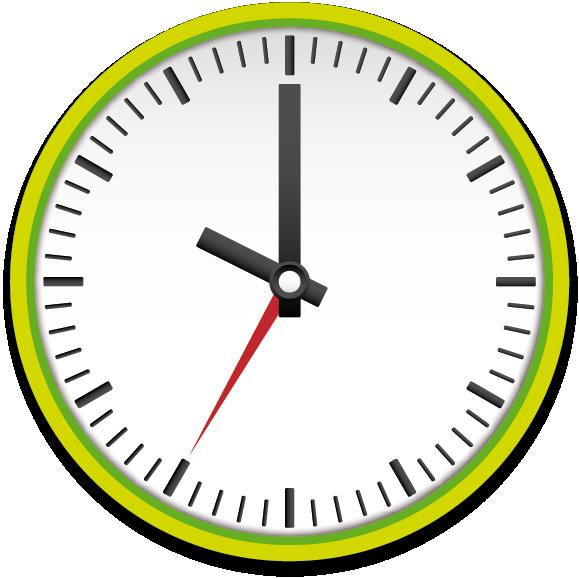 Clipart clock 8 am. Opening hours freizeit erholungspark